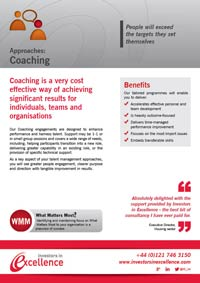 Approaches: Coaching