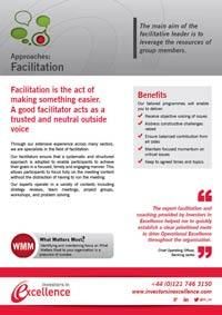 Approaches: Facilitation