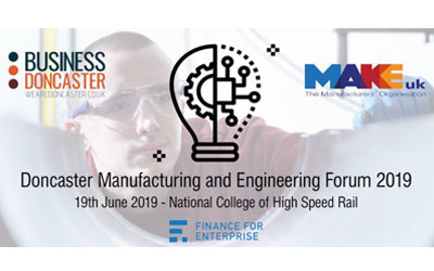 IiE's at Doncaster Manufacturing & Engineering Forum