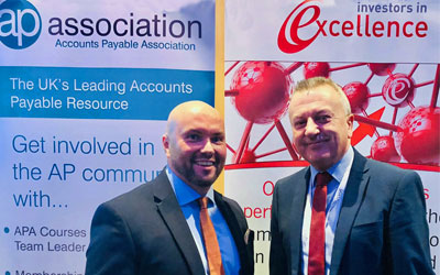 IiE's Kevin Hart with Jamie Radford of the APA